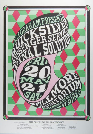 Quicksilver Messenger poster from show