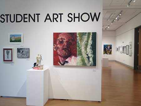 Gallery view of Student Art Show