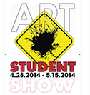 Poster from Student Art Show, 2014