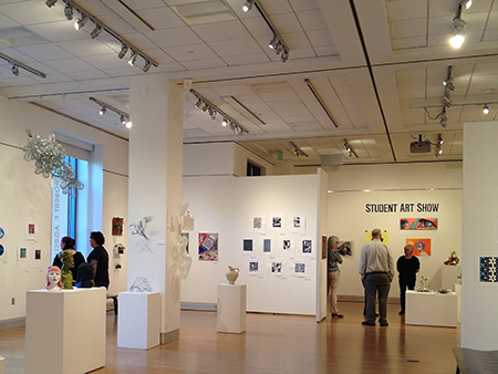 GALLERY VIEW OF STUDENT SHOW